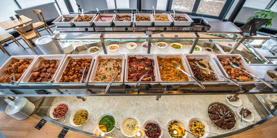 """Vegánske menu v najväčšej vegánskej reštaurácii na Slovensku, so sebou """"take away"""" alebo rozvoz/Bratislava - Ružinov"""