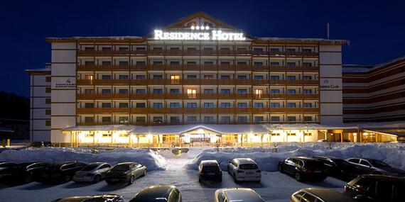 Rozprávkové Donovaly v baby friendly RESIDENCE HOTEL & CLUB**** s polpenziou a lyžiarskym svahom na skok/Donovaly