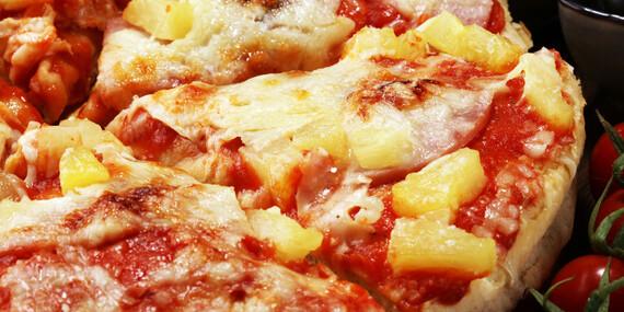 Pizza slimáky alebo pizza podľa výberu/Bratislava - Devínska Nová Ves