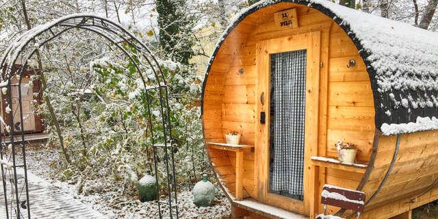 Zážitkový pobyt v Rakúsku vo vyhrievaných drevených bareloch pri lanovom parku