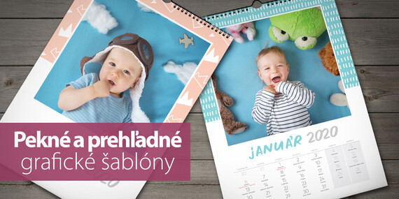 Nástenné a stolové fotokalendáre - najkrajšie spomienky po celý rok 2020/Slovensko