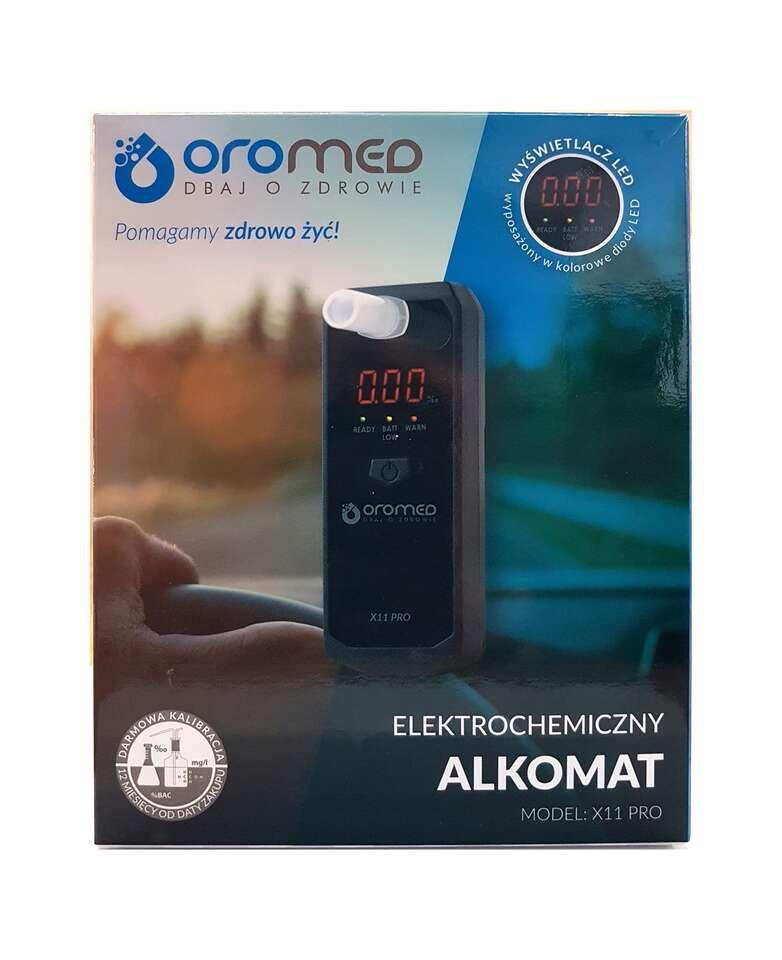 Profesionálny alkoholtester Alkomat X11 PRO s bezplatnou kalibrácio...