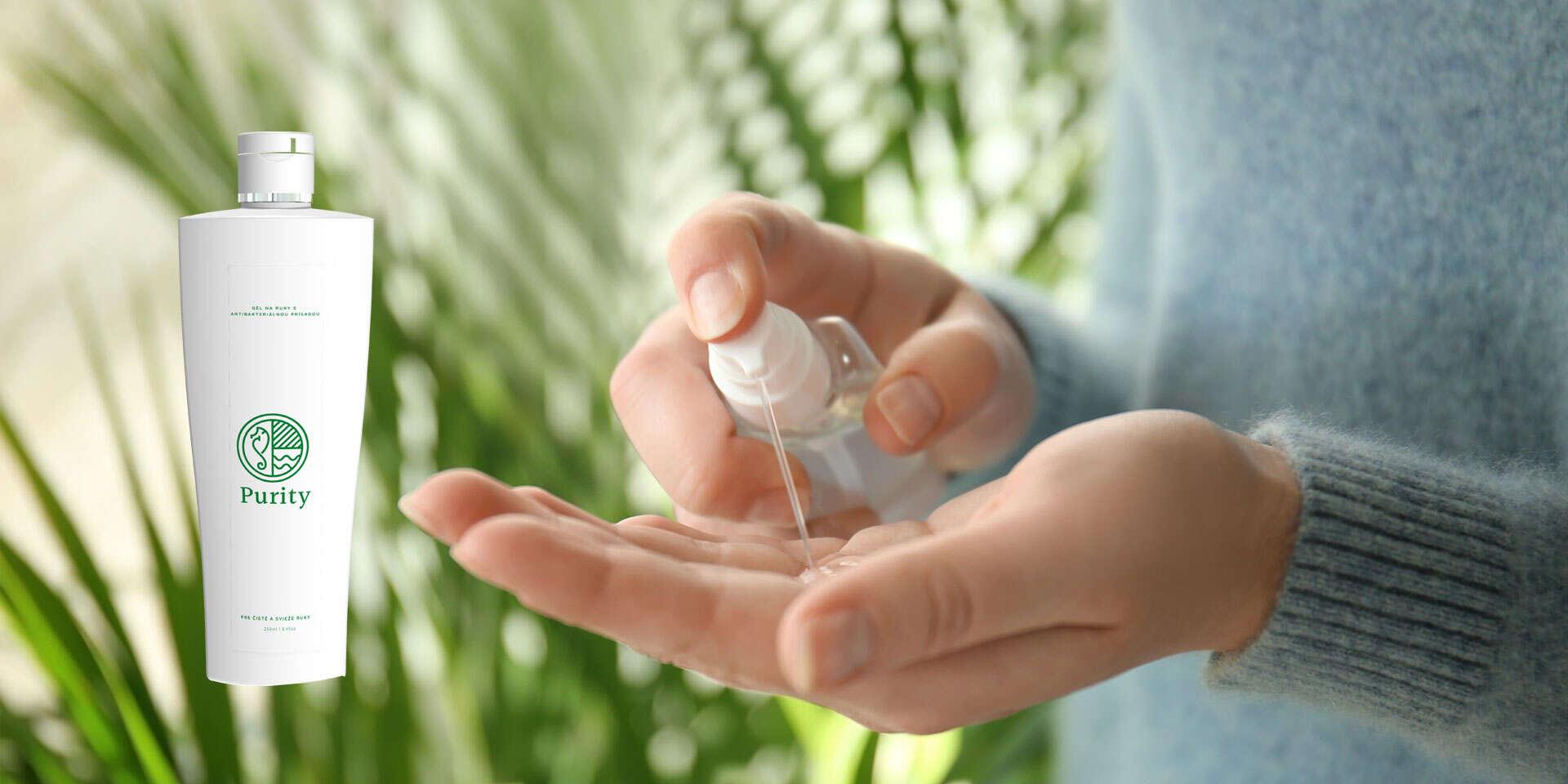 Antibakteriálny 250 ml gél na ruky, ktorý likviduje až 99,99 % vírusov a baktérií na pokožke