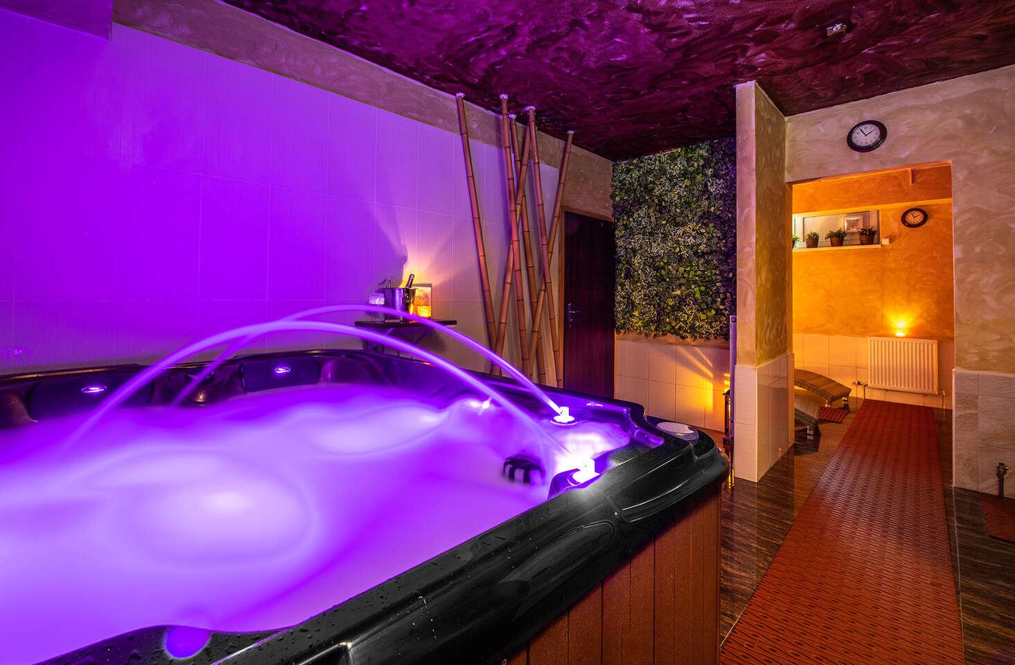 Rozmaznávajte sa privátnym wellnessom v PREMIUM**** business hotel Bratislava v romantickej atmosfére so sviečkami a sektom