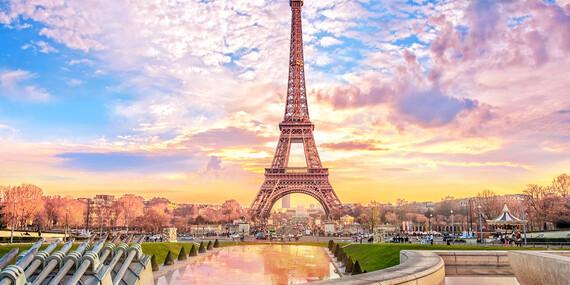 Romantický Paríž s možnosťou návštevy Disneylandu / Francúzsko - Paríž