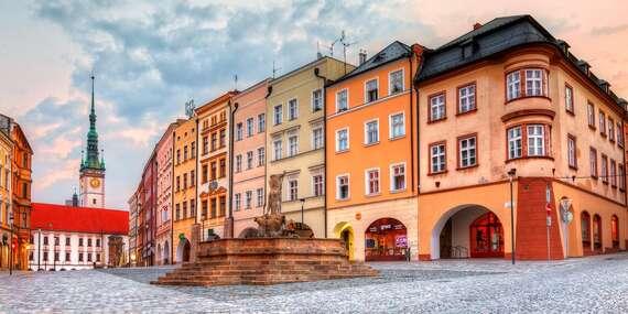 Poznejte hanáckou metropoli ze secesního hotelu Lafayette**** v klidné části Olomouce/Olomouc