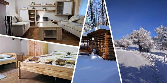 Pekná zrekonštruovaná chata pre 12 osôb v krásnom prostredí Štiavnických Baní / Štiavnické Bane