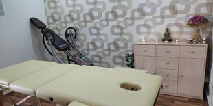 Priestory masážneho salónu TuiNa v Trnave na Jeruzalemskej 21