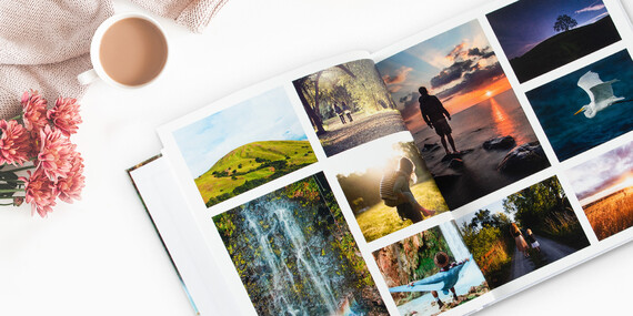 Kvalitná fotokniha 30x30 v tvrdej väzbe z vašich najkrajších momentov / Slovensko