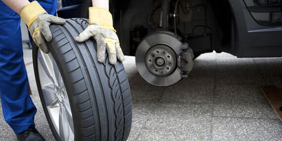 Pripravte sa na sezónu už teraz - kompletné prezutie vozidla s vyvážením pneumatík/Košice