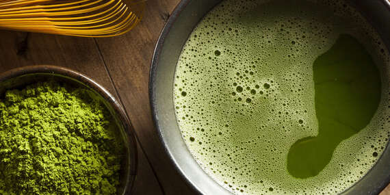 Matcha – japonský mletý zelený čaj/Slovensko