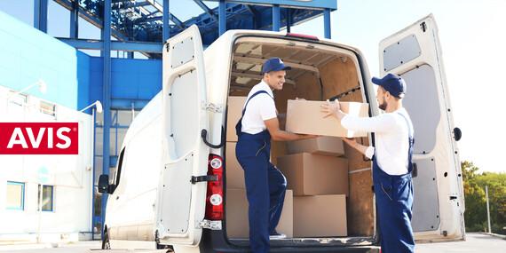 Prenájom úžitkových vozidiel od AVISu vrátane diaľničnej známky a možnosti vycestovať za hranice/Bratislava