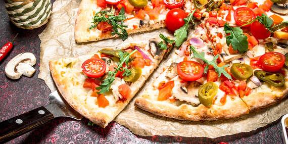 """Pizza alebo šalát pre dvoch s dovozom alebo """"take away"""" v Bratislave/Bratislava – Rača"""