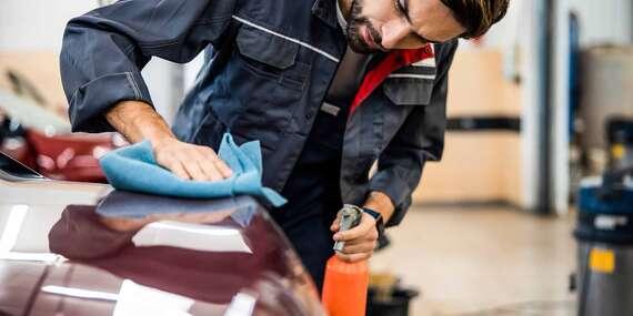 Kompletné ručné umytie vozidla s tepovaním alebo dezinfekcia ozónom/Žilina
