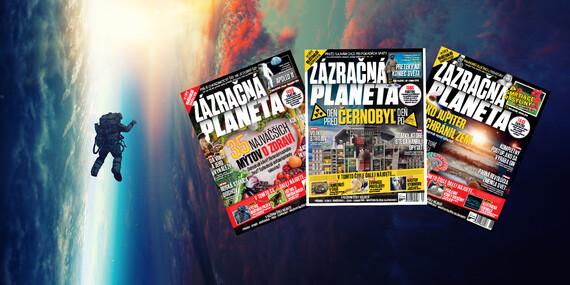 Ročné predplatné časopisu Zázračná planéta / Slovensko