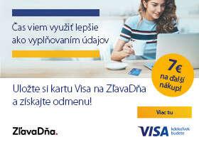 Užite si pohodlie pri online nakupovaní a získajte 7 eur