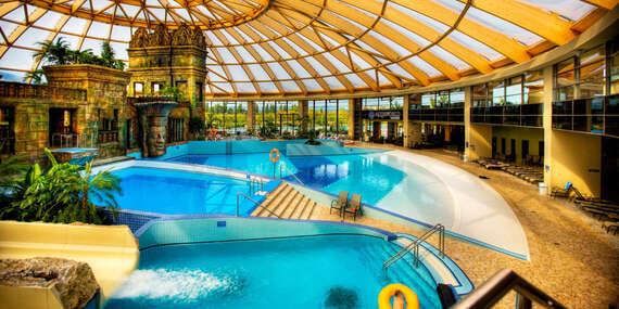 Pobyt s polpenziou v hoteli Aquaworld Resort Budapest**** s najväčším aquaparkom Maďarska až do konca júna 2020 / Maďarsko - Budapešť