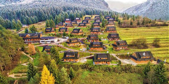 NARODENINOVÁ NOVINKA: Drevenice Terchová Resort – relax v lone prírody s možnosťou wellness/Terchová