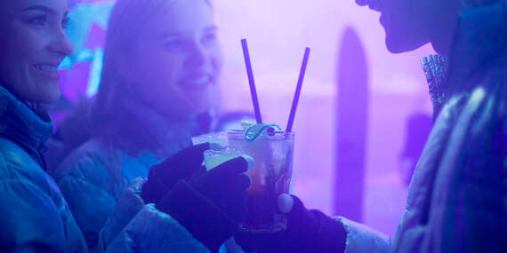 Vstup a drinky v ICE BAR v centre bratislavského Starého Mesta/Bratislava - Staré Mesto