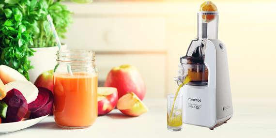 Lis na ovocie a zeleninu LO7066 - odšťavuje, lisuje, pripraví vám smoothie alebo domácu zmrzlinu/Slovensko