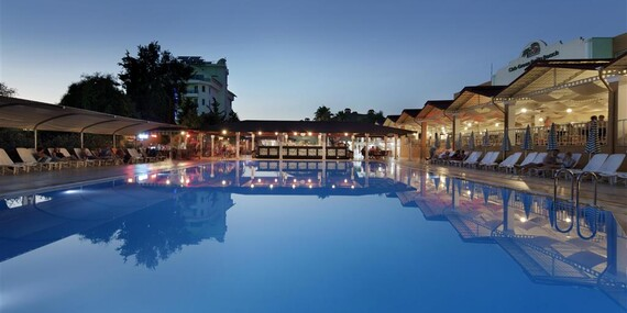 FIRST MINUTE: All inclusive dovolenka v Turecku v 5* hoteli/Turecko