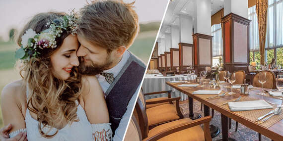Svadobné menu alebo slávnostný bufet v reštaurácii Apollo Hotela**** vrátane prenájmu priestorov / Bratislava - Ružinov