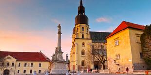 Mestská veža v Trnave je jednou z najdôležitejších renesančných pamiatok mesta