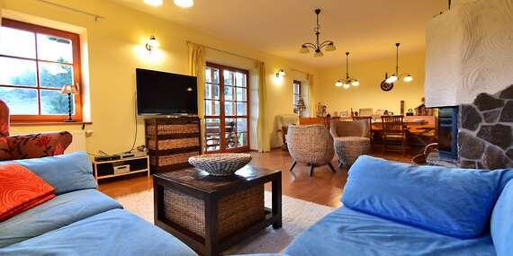 Plne vybavená chata so saunou pre 10 osôb len 2 minúty autom od Bachledky/Ždiar