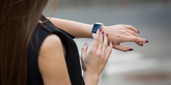 Inteligentné hodinky Smart Watch s možnosťou volania/Slovensko