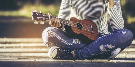 Kurz hry na ukulele s profesionálnym hudobníkom/Bratislava – Rača