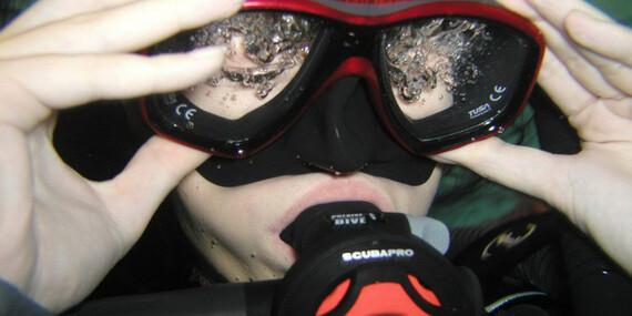 Kurz potápania v centre Academia Aquatica/Bratislava – Ružinov