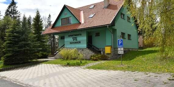 Ubytovanie v apartmánoch V+K, len 8 km od Štrbského plesa / Tatranská Štrba