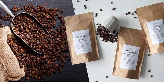 Degustačné balíčky plantážnej zrnkovej kávy z celého sveta od SofiKofi/Slovensko