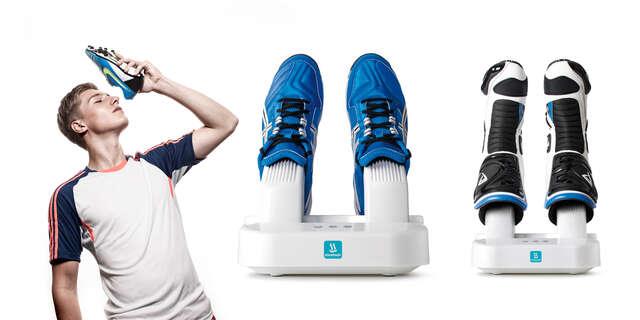 Automatický sušič topánok s dezinfekciou