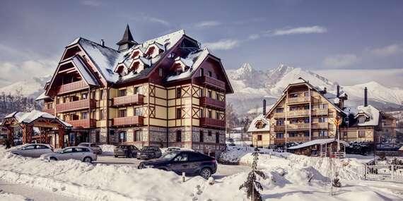 Dovolenka pre náročných v APLEND Hoteli Kukučka**** blízko lanovky na Lomnický štít/Tatranská Lomnica