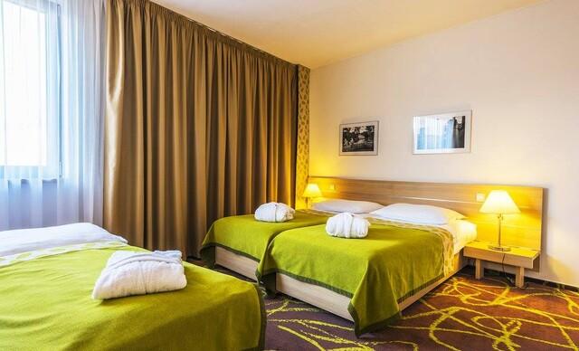 Pražský Iris Hotel Eden**** pre milovníkov športu, len 15 minút MHD od historického centra.