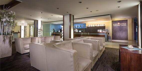 Kúpeľný pobyt s polpenziou, celodenným vstupom do aquaparku a ubytovaním v Liečebnom dome VEĽKÁ FATRA ****/Turčianske Teplice