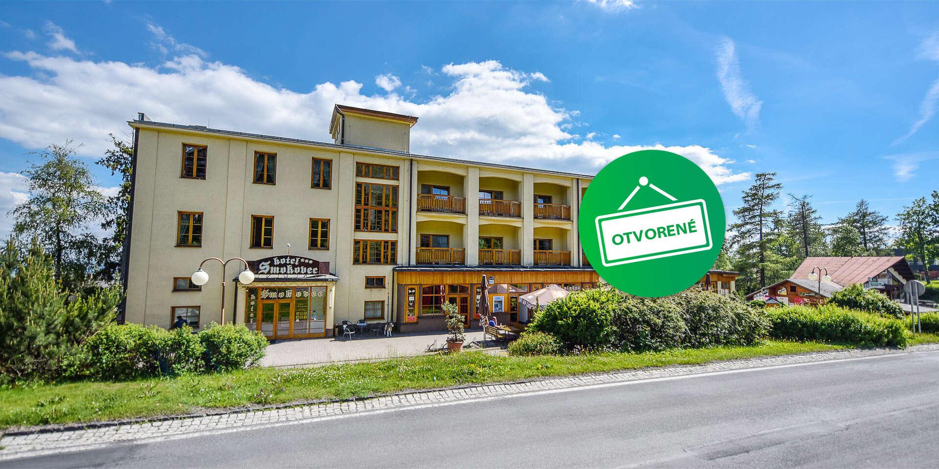 Hotel Smokovec *** Dovolenka v centre Tatier s polpenziou a wellness