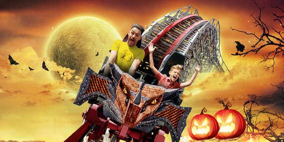 Halloweenska akcia: Top zábavný park ENERGYLANDIA s neobmedzeným vstupom na 75 atrakcií/Poľsko - Zator