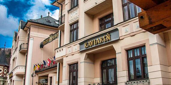 Relaxačný pobyt pre 1 osobu s polpenziou, wellness a masážou v jedinečnom hoteli MOST SLÁVY*** / Trenčianske Teplice