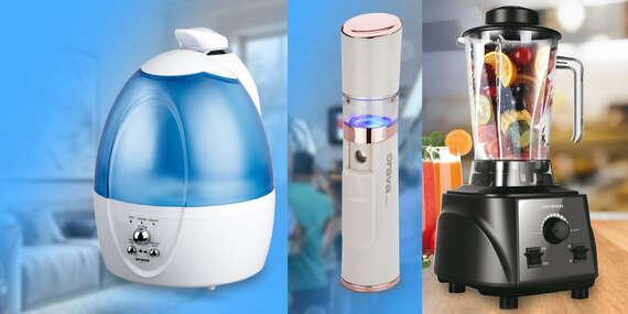 Drobná domáca elektronika a spotrebiče ORAVA – mixéry, zvlhčovače, teplomery a čistič na tvár/Slovensko