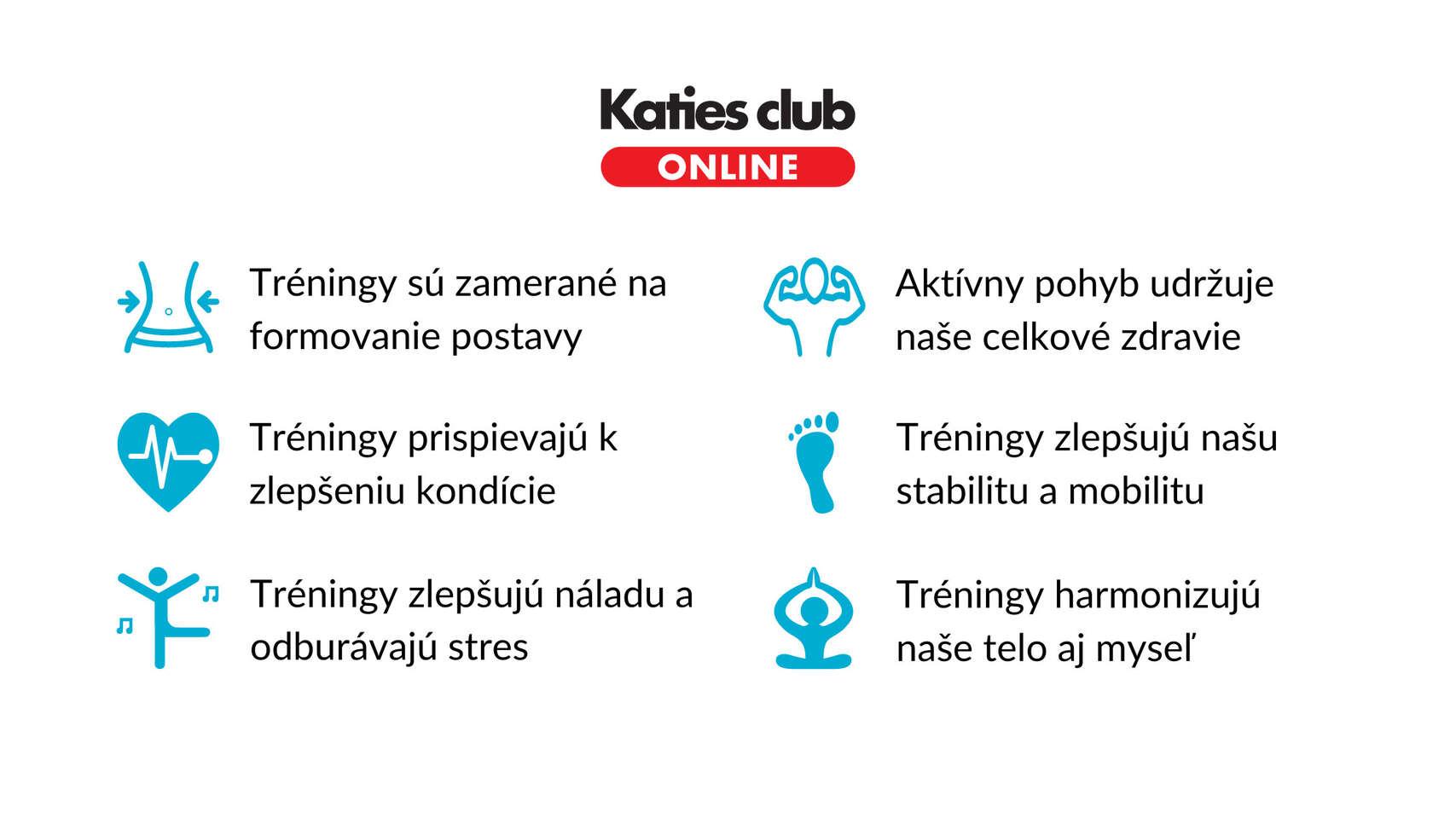 Redukčný online kurz s trénermi z Katies clubu
