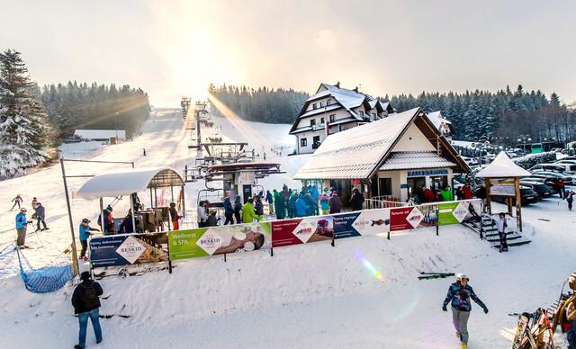 Obľúbený Kompleks Beskid*** - perfektné miesto na wellness a lyžovačku hneď pri hoteli