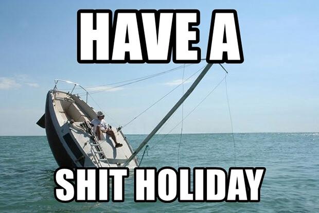 Mať na hov.. dovolenku
