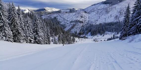 Rodinný pobyt s polpenziou a skipasmi priamo v ski centre Čertovica v Nízkych Tatrách/Jarabá - Ski Čertovica