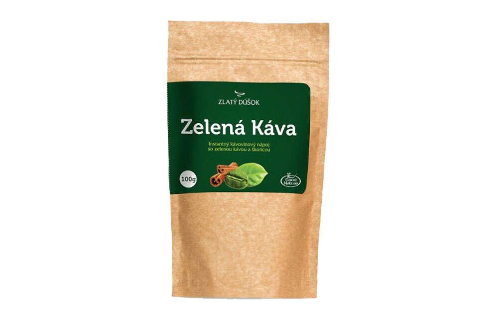 Zelená káva s vanilkou, BIO škoricou alebo kardamómom (1 + 1 zdar...