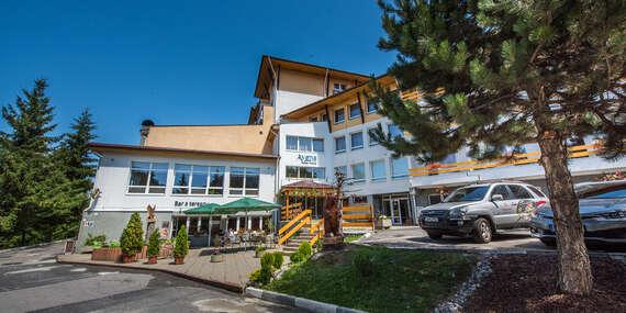 Jar, jeseň a zima v Nízkych Tatrách s procedúrami a polpenziou pre dvoch v hoteli AVENA RELAX HOTEL***, platnosť až do decembra 2020 / Jánska dolina - Liptovský Ján - Nízke Tatry