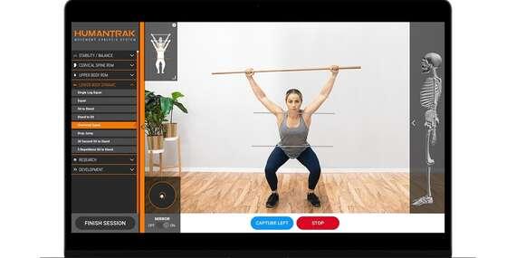 Moderné vyšetrenie svalov, kĺbov a pohybov pomocou HumanTrak, ForceFrame alebo ForceDecks/Bratislava