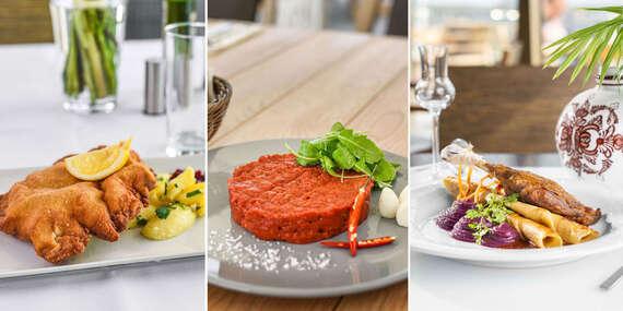 To najlepšie od Restaurant Parlament - vychutnajte si najobľúbenejšie jedlá tohto roka v opäť otvorenej prevádzke/Bratislava – Staré Mesto