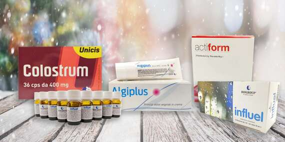 Balíčky produktov od Bios-Medica – od imunity cez chudnutie až po bolesti/Slovensko